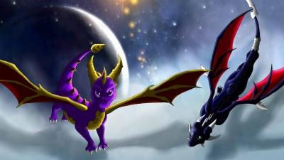 Artwork ke hře The Legend of Spyro: A New Beginning
