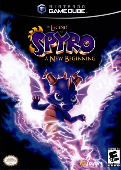 Obal hry The Legend of Spyro: A New Beginning