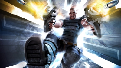 Artwork ke hře TimeSplitters: Future Perfect