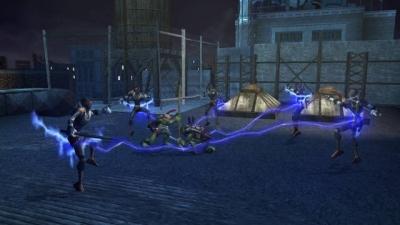 Screen ze hry TMNT