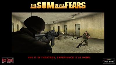 Artwork ke hře The Sum of All Fears