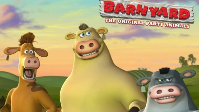 Artwork ke hře Barnyard