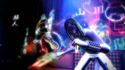 Screen ze hry Rock Band