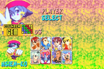 Screen ze hry Super Puzzle Fighter II Turbo