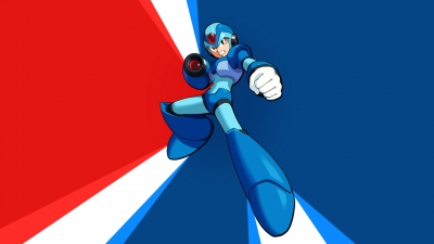Artwork ke hře Mega Man Xtreme