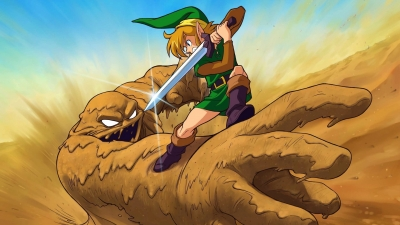 Screen The Legend of Zelda: A Link to the Past