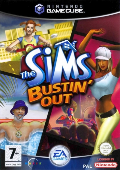 Screen The Sims Bustin´ Out