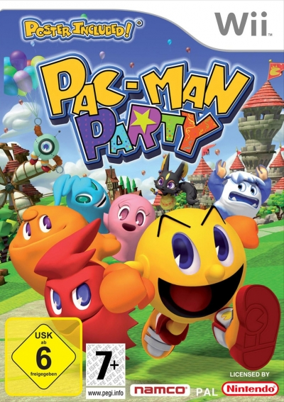 Screen Pac-Man Party