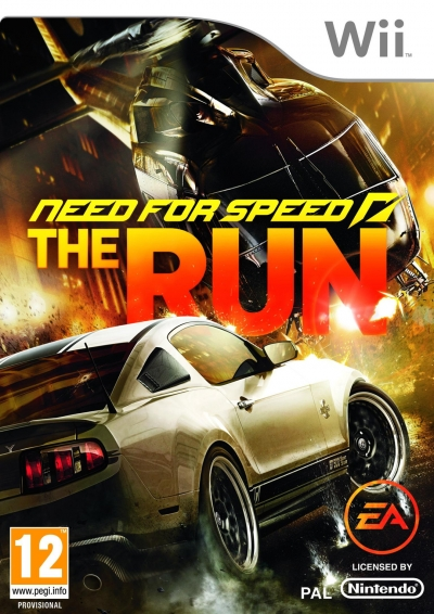 Screen Need for Speed: The Run