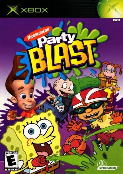 Artwork ke hře Nickelodeon Party Blast