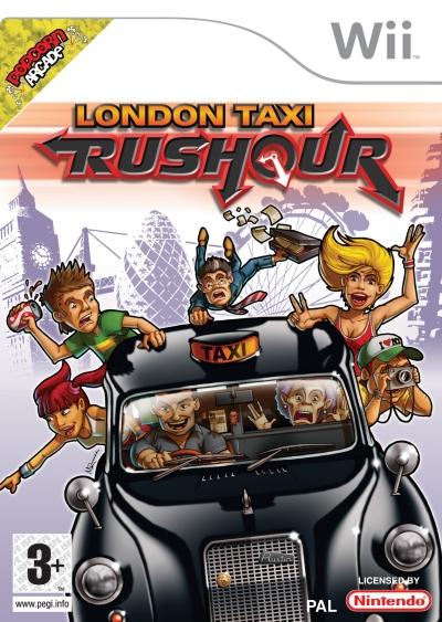 Screen London Taxi Rushour