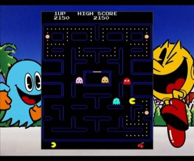 Screen ze hry Namco Museum Megamix