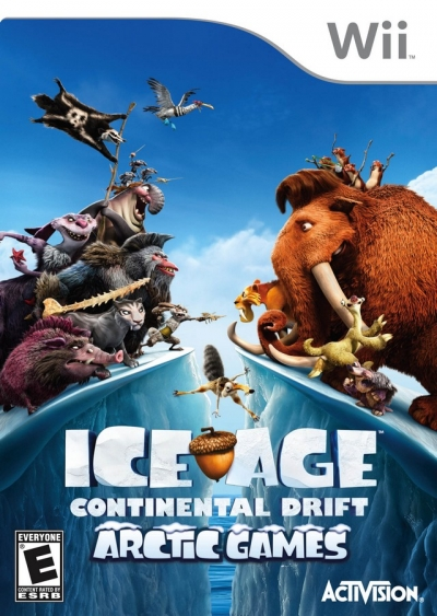 Obal hry Ice Age 4: Continental Drift - Arctic Games
