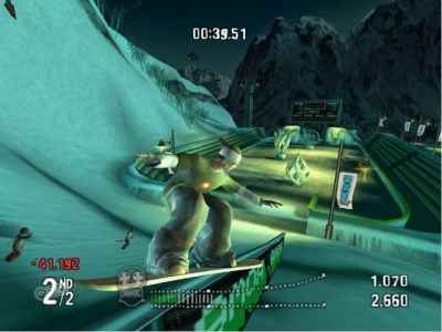 Screen ze hry SSX On Tour
