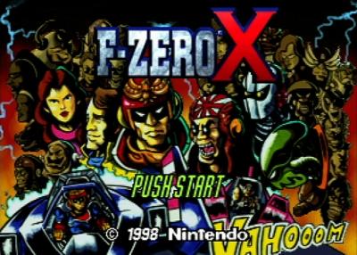 Screen ze hry F-Zero X