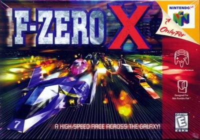 Obal hry F-Zero X