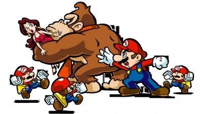 Artwork ke hře Mario vs. Donkey Kong: Mini-Land Mayhem