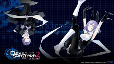 Artwork ke hře Shin Megami Tensei: Devil Survivor 2