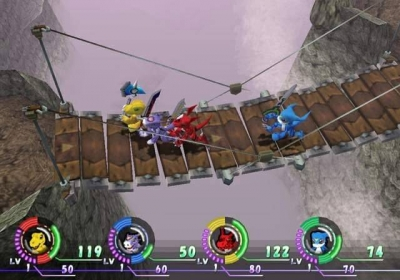 Screen ze hry Digimon World 4