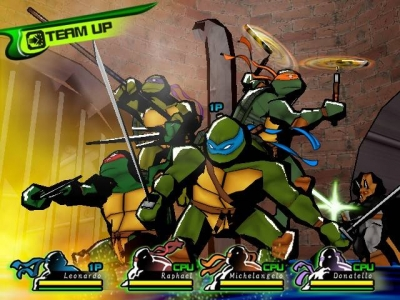 Screen ze hry Teenage Mutant Ninja Turtles 3: Mutant Nightmare