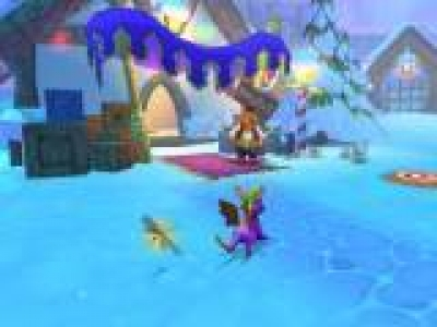 Screen ze hry Spyro: A Hero´s Tail