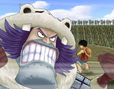 Screen ze hry One Piece: Grand Adventure