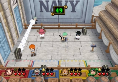 Screen ze hry One Piece: Pirates´ Carnival