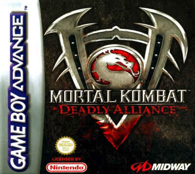 Obal hry Mortal Kombat: Deadly Alliance