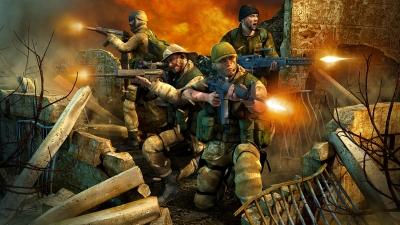 Artwork ke hře Conflict: Desert Storm II