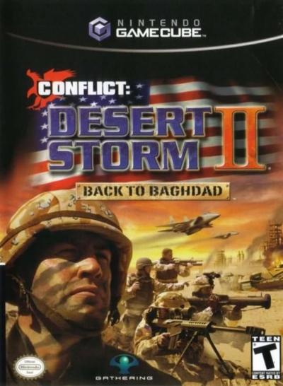 Obal hry Conflict: Desert Storm II