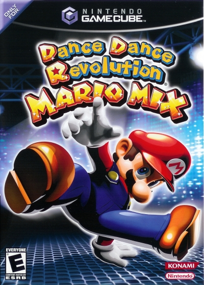 Obal hry Dance Dance Revolution: Mario Mix
