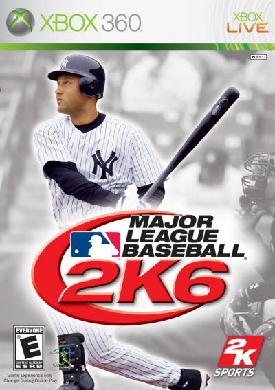 Artwork ke hře Major League Baseball 2K6