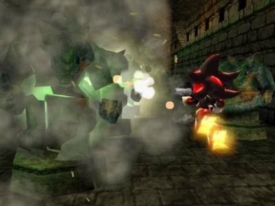 Screen ze hry Shadow the Hedgehog