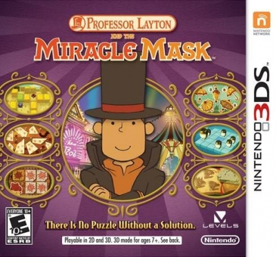 Obal hry Professor Layton and the Miracle Mask