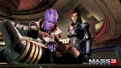 Screen ze hry Mass Effect 3