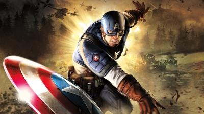 Artwork ke hře Captain America: Super Soldier