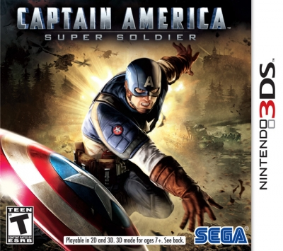 Obal hry Captain America: Super Soldier