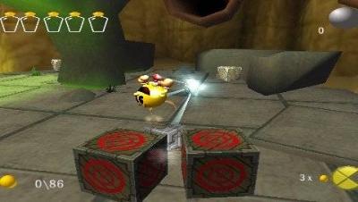 Screen ze hry Pac-Man World 3