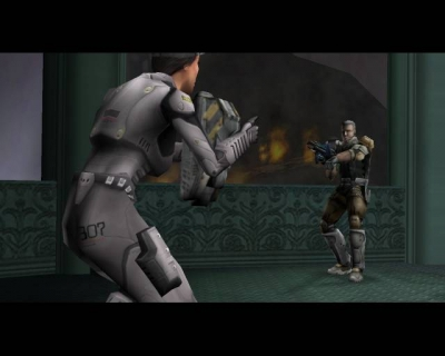 Screen ze hry Red Faction II