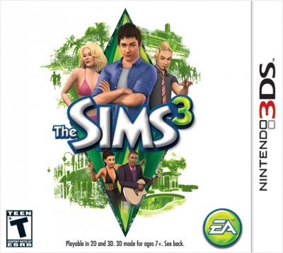 Obal hry The Sims 3