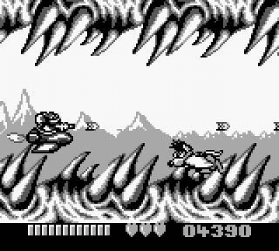 Screen ze hry Battletoads