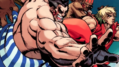 Artwork ke hře Street Fighter II: The World Warrior