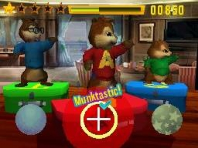 Screen ze hry Alvin and the Chipmunks: Chipwrecked