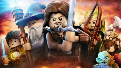 Artwork ke hře LEGO The Lord of the Rings