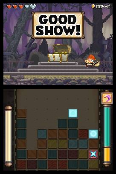 Screen ze hry Henry Hatsworth in the Puzzling Adventure