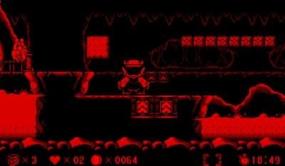 Screen ze hry Virtual Boy Wario Land