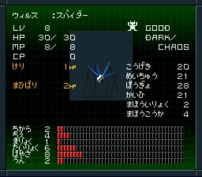 Artwork ke hře Shin Megami Tensei II