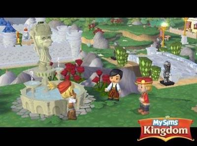 Screen ze hry MySims Kingdom