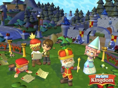 Screen ze hry MySims Kingdom