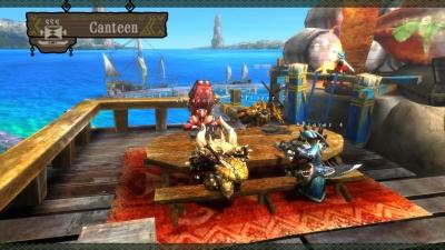 Screen ze hry Monster Hunter 3 Ultimate